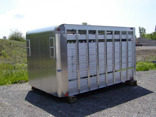 Eby Cattle Trailers For Sale Maverick